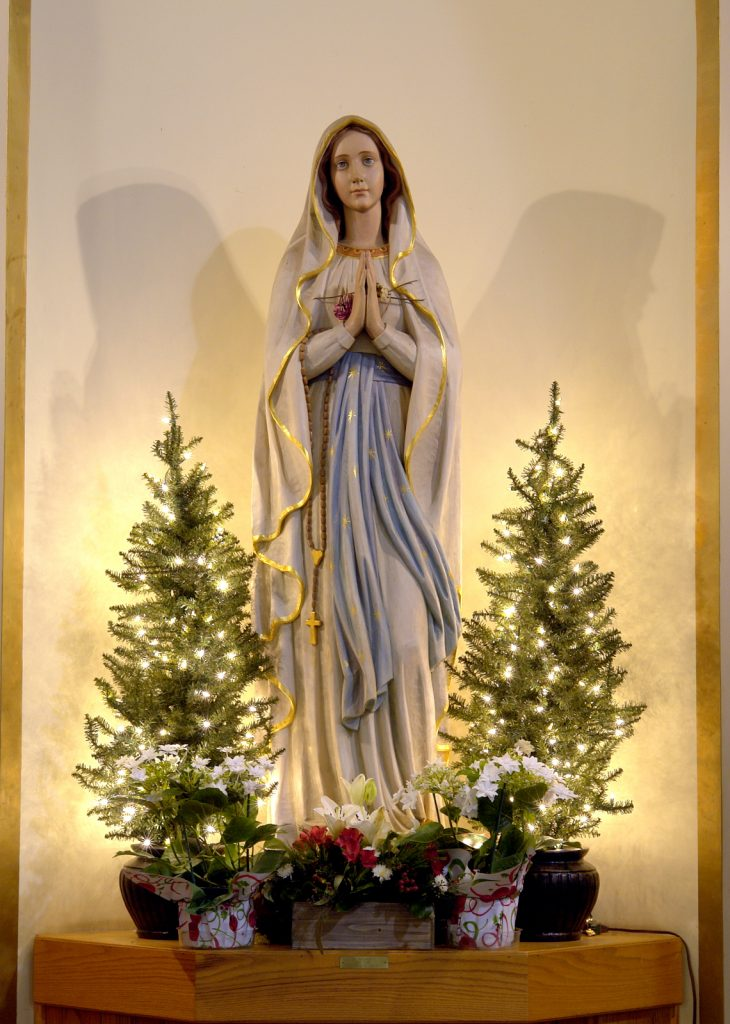 Mary Shrine Christmas Pines