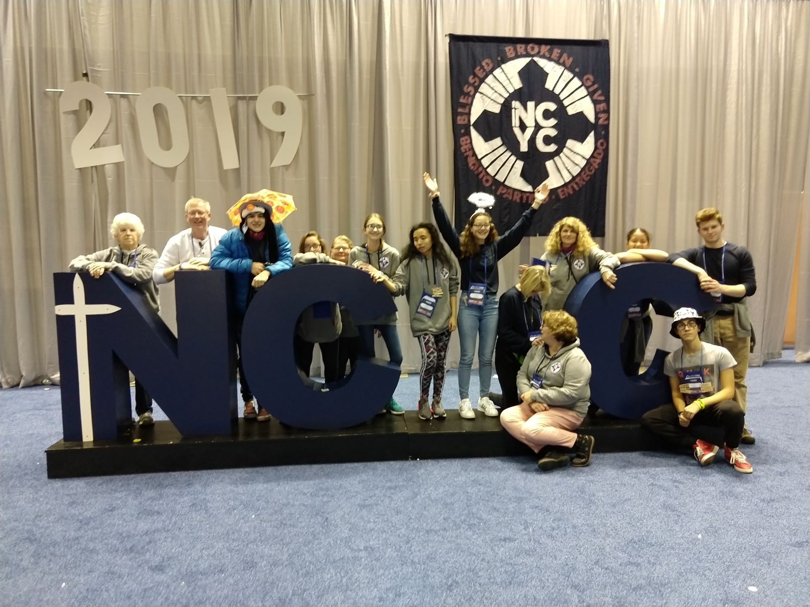 The Immaculate Conception Group at NCYC